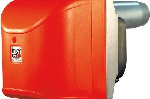 Intercal Ölbrenner SLV100B 16 - 55 kW / Öldurchsatz 1,35 - 4,60 kg/h / Flammrohr Ø: 80 mm