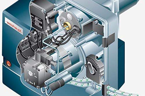 Weishaupt Ölbrenner WL5/1-B | 21,5-40kW | Vollautomatisch Einstufig | 24105121