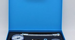 Pumpenprüfkoffer P 1 komplett für Ölbrenner Ölbrennerpumpe Heizung Ölpumpe Prüfkoffer Vakuum Manometer im Koffer