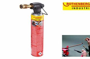 ROTHENBERGER Industrial RoFire 1800 Hochleistungs-Lötgerät inkl. Stützbügel, Gaskartusche - 35501